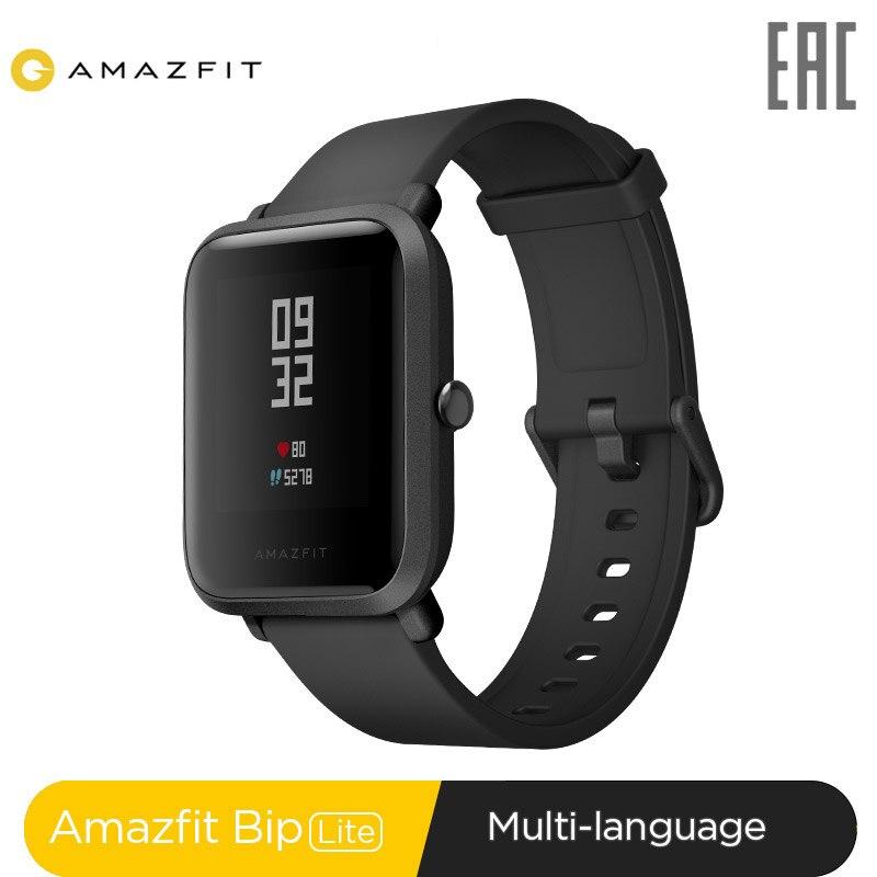 Смарт часы Amazfit Bip Lite 45 дней Срок службы батареи 3ATM в соответствии со стандартом водонепроницаемости Smartwatch|Смарт-часы|   | АлиЭкспресс