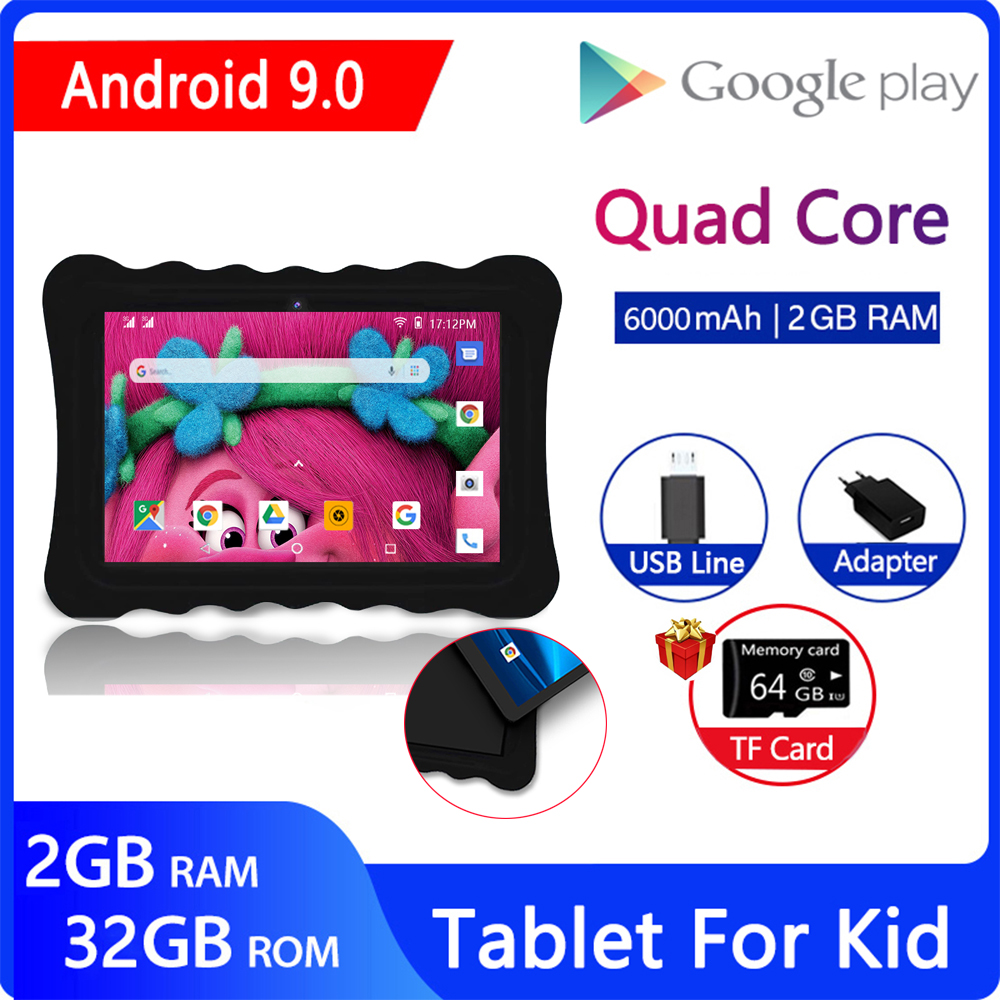 ZONKO Tablet PC 10 Inch Android 9.0 3G Phone Call Tablets Quad Core WiFi GPS 2GB RAM 32GB ROM IPS 1280*800 Dual SIM Card GPS