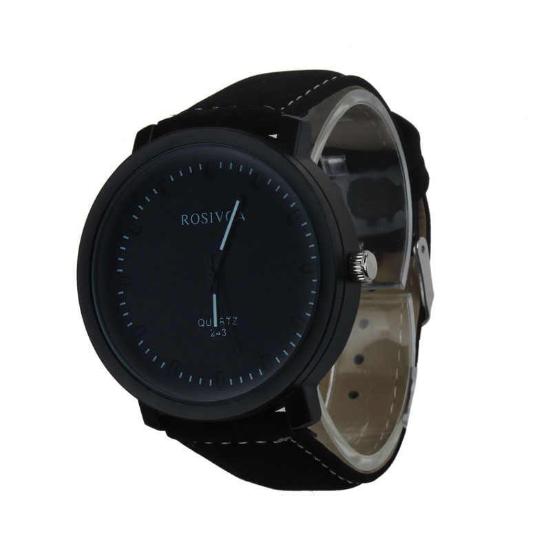 לשפשף יער חגורת שעון גברים סגסוגת עור Harajuku סגנון קוורץ אנלוגי שעונים גברים של מינורי ייחודי שעון יד zegarek meski