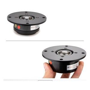 KYYSLB 90DB 1350HZ 15 ~ 30W 6 ohms fièvre bricolage amplificateur haut-parleur 4 pouces importé Fiber soie Film Tweeter unité haut-parleur X1II série
