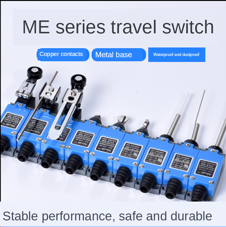 Me Limit Switch Me-8108 8104 8107 8111 8112 8122 9101 Limit Switch Rotary Adjustable Roller Lever Arm Micro Limit Switch