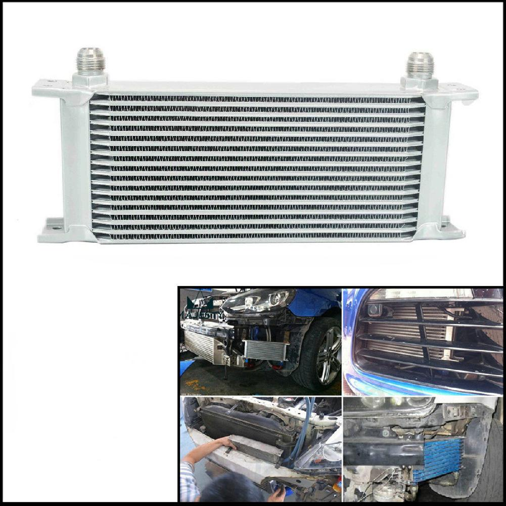 Universal Automobile 16 ROW AN-10AN Engine 248mm Aluminum Oil Cooler Gearbox Radiator Car Accessories Oil Cooler