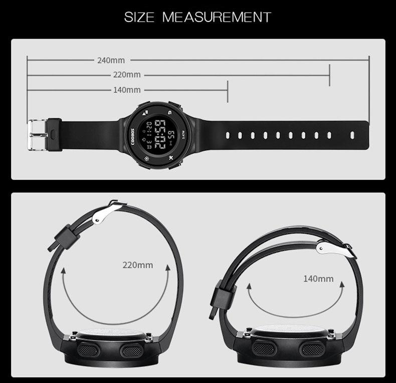das crianças meninos relógio simples multi-função 5bar