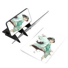 Оптический чертежный проектор, трассировочная доска, сделай сам, эскиз, живопись, стол, художественные инструменты, зеркальное отражение, затемнение, кронштейн, держатель