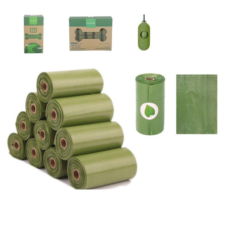 Новые Pet биологические сумки Экологичная производственная линия 15 шт./в рулонах отсчетов 3 цвета Ароматические мешок для мусора мешок корма ...