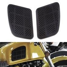 Adesivo para tanque de combustível de moto, adesivo protetor de joelho para tanque de combustível de moto acessórios
