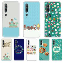Animal Crossing New Horizons back Transparent Phone Case cover hull For XIAOMI mi 3 4 5 5X 8 9 10 se max pro a2 9T note lite(China)