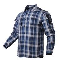 2019 New ManTactical Plaid Shirt Checked Shirt 4 optional colors