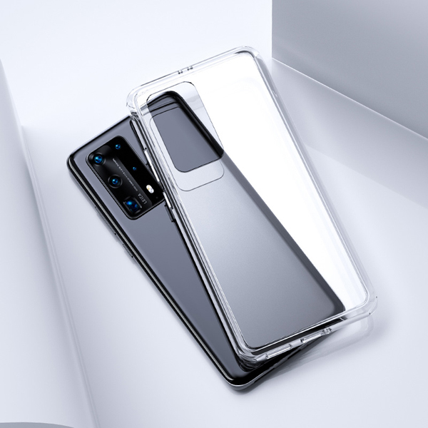 For Huawei P40 / P40 Pro 5G Case Crystal Clear Phone 360 Protection Soft + Hard Hybrid Case For Huawei P40 P 40 Pro Cover