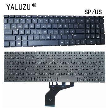 Z nami SP klawiatura do laptopa HP Pavilion 15-DA 15-DB 15-DX TPN-C136 TPN-C135 15-DA0033WM 15-DR 250 255 G7 tanie i dobre opinie YALUZU Hp compaq US Standardowy 15-DA 15-DR 250 255 G7
