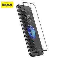 Película protectora de pantalla 3D lateral estrecho Baseus para iphone6 6s 7 0 23 mmSilk-pantalla suave PET película de vidrio templado para iphone6 6S 7plus