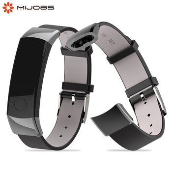 Genuine Leather Strap for Huawei Watch Honor Band 3 Band Wrist Strap Watchband Smart Wristband Bracelet Accessories for Honor 3