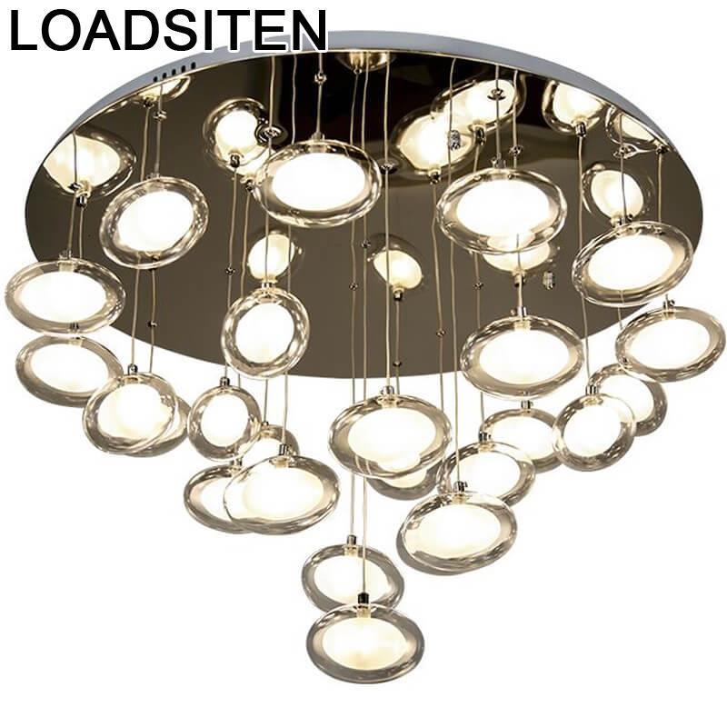 Sufitowa Vintage Deckenleuchten Celling Fixtures Lustre Luminaire Lampara Techo Luminaria De Teto Plafonnier Led Ceiling Light