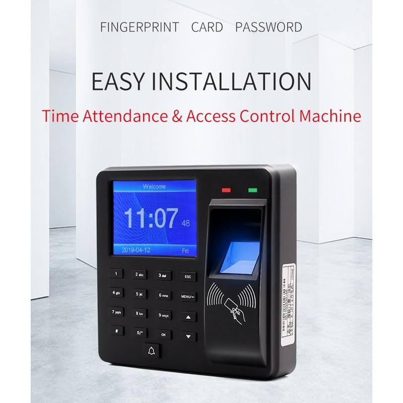 M10 Security Alarm Fingerprint Door Access Control Machine with LCD Screen Smart Door Bell