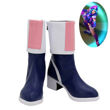 Caitlyn Schoenen Cosplay Arcade Caitlyn Huid LOL League Of Legends Vrouwen Laarzen Ver 1(China)