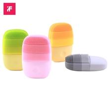 InFace brosse électrique sonique pour le visage, appareil de massage, nettoyage en profondeur, en Silicone, étanche, pour hommes et femmes