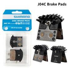 Almofadas de freio de disco de metal j04c j04c da bicicleta das aletas refrigerando m9000/m9020/m987/m985/m8000/m785/m7000/m675/m6000/m615
