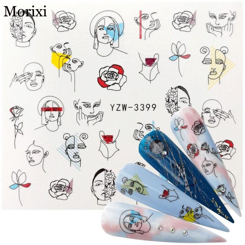 Купить наклейка для ногтей morixi fw076 ультратонкая фольга с геометрическим