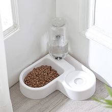 Миска для кормления домашних животных портативная пластиковая