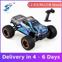 Linxtech-coche de carreras teledirigido 16889 1/16 4WD 45 km/h, Motor sin escobillas, gran pie, todoterreno, juguete para niños VS Wltoys 12428