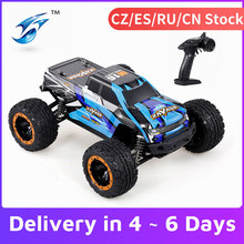 Linxtech 16889 1/16 4WD 45 km/h wyścigi RC samochód bezszczotkowy silnik duża stopa Off-Road RC zabawka terenowy dla dzieci VS Wltoys 12428
