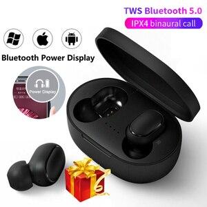 Bluetooth Earphones 5.0 Wireless Headphones air dots TWS in-Ear Earbuds Waterproof Mini Headset 3D Stereo Sound Sport Earpiece(China)