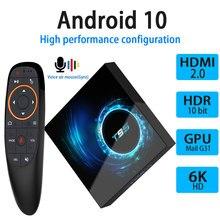 أندرويد 10.0 صندوق التلفزيون 4GB 32GB 64GB يوتيوب H616 رباعية النواة 1080P H.265 6K واي فاي 2.4G مشغل الوسائط فك التشفير