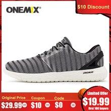 ONEMIX 2020 мужские легкие кроссовки для бега на открытом воздухе, беговые кроссовки для прогулок, гибкие мягкие летние дышащие спортивные кроссовки