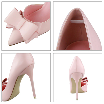 Bow Pointed Toe Pumps  6