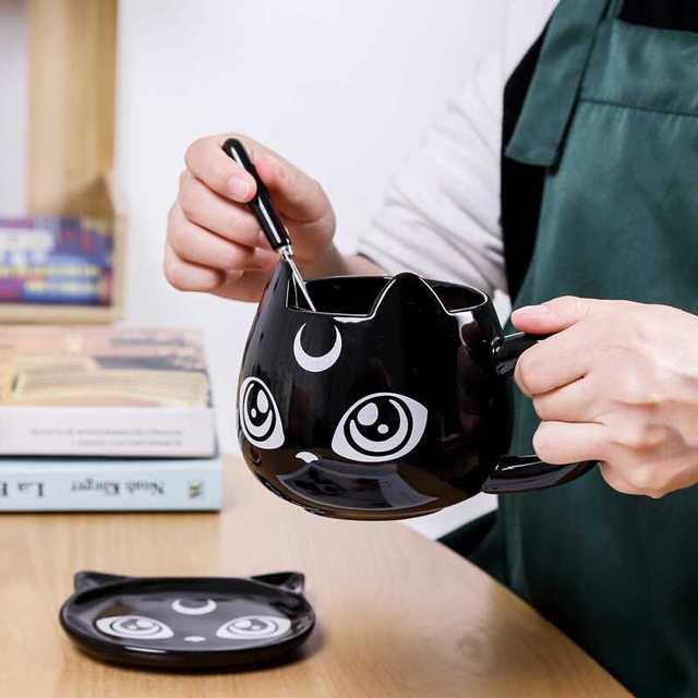 Black Cat Ceramics Coffee Mug 2