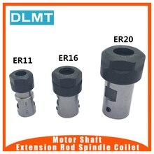 ER20 كوليت تشاك عمود المحرك تمديد قضيب المغزل كوليت عدة المخرطة حامل الداخلية 8 مللي متر 10 مللي متر 12 مللي متر 14 مللي متر 16 مللي متر طحن مملة