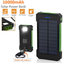 O dużej pojemności 30000mAh długotrwała bateria słoneczna przenośna ładowarka podwójne wyjście zewnętrzna bateria USB do telefonu komórkowego słonecznego tanie tanio Teclast Z tworzywa sztucznego Do tabletu Do smartfona Podwójny USB Bateria litowo-polimerowa Z panelu słonecznego Wsparcie szybkie ładowanie
