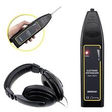 Автомобильный Электронный стетоскоп, универсальный автомобильный диагностический инструмент, инструмент для ремонта двигателя, звуковой детектор, датчик шума, коробка передач, тестер