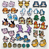 Dayoff 1Pair Japan Anime Pokemon Cute Stud Earrings For Women Female Cartoon Tortoise Fox Stud Earrings Girl Gift E1013