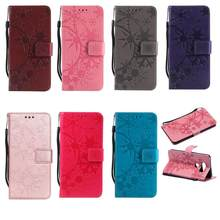 Leather Flip Wallet Case For LG G3 G4 G5 G6 V30 K4 K8 K10 2017 2018 X210 Cover Case(China)
