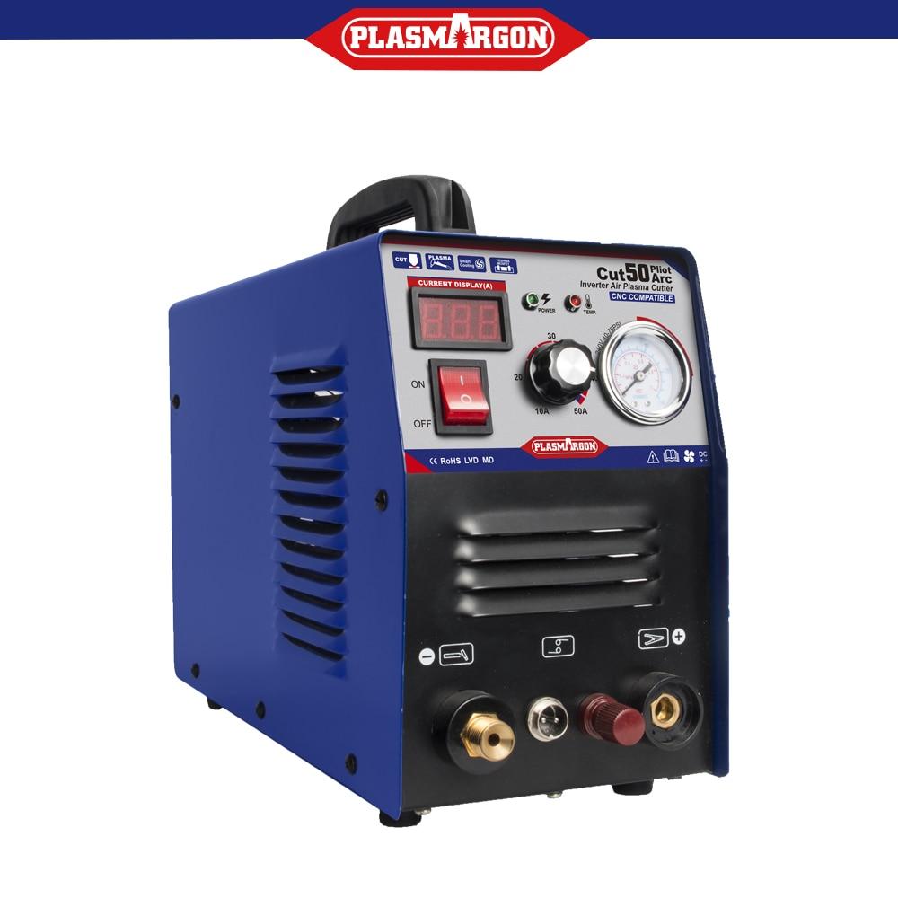 50A Air Plasma Cutter Metall Maschine Pilot Arc CNC Kompatibel CUT 1-12mm