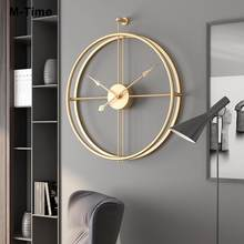Nordic Wall Clock Modern Design Large Wall Clocks Office Living Room Decoration Mute Big Kitchen Hanging Watch reloj de pared 3D