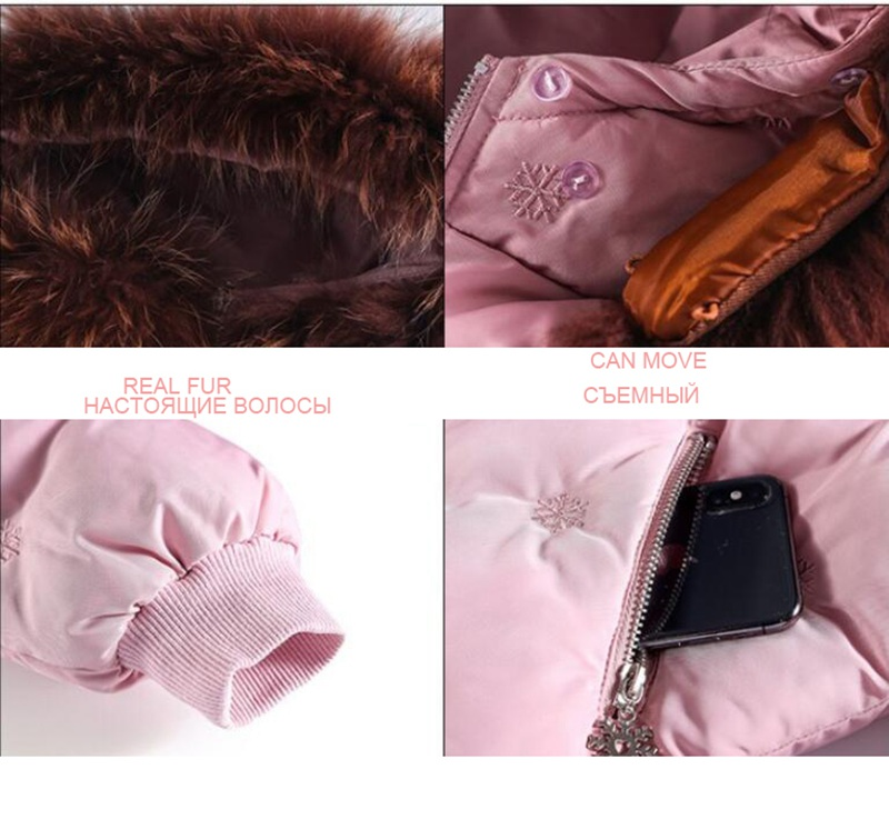 CROAL CHERIE Real Fur Outerwear & Coats Winter Jacket For Girls Children Winter Clothing Outerwear Coat Toddler Clothes (14)