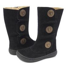 Livie & Lucaเด็กรองเท้าMinimalistเด็กหญิงรองเท้าแฟชั่นฤดูหนาวและฤดูใบไม้ผลิ2020รองเท้าผ้าใบหนังแท้
