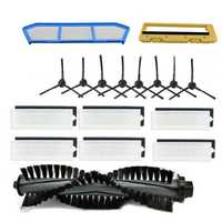 Hot Sale Filter Pengganti Kit untuk ILife A4 A6 A4S A8 A40 HEPA Filter & Filter Utama & Sikat Sisi remote Control Roll Sikat
