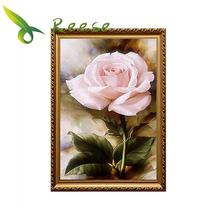 Full Diamond Painting 50cm x 70cm Rose Slightly Inside The Living Room Diy Embroidery