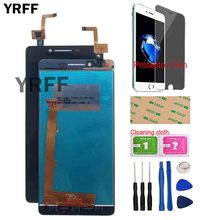Mobile LCD Display For Lenovo A6000 K3 K30-T LCD Display Touch Screen Panel Front Glass Digitizer Assembly Tools Protector Film цена в Москве и Питере