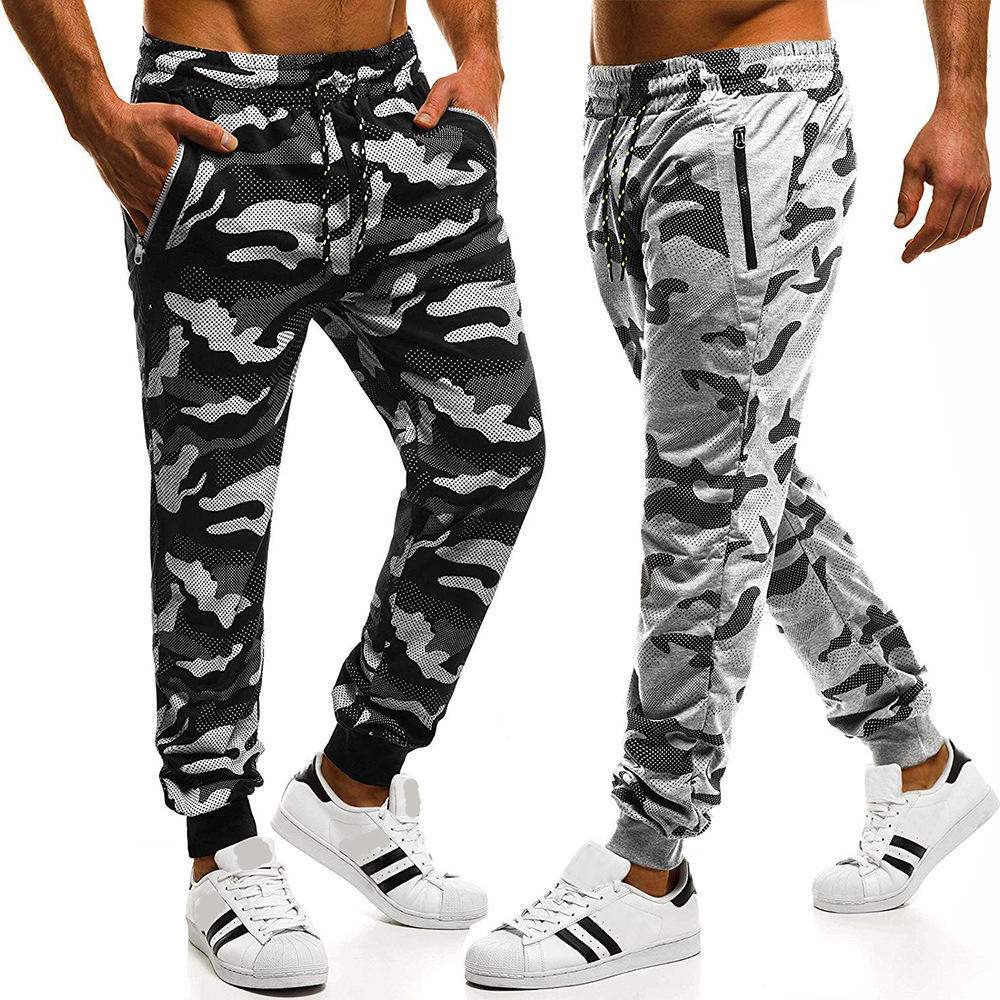 European And American-Style MEN'S Wear Camouflage Pants Men's Casual Sports Pants Athletic Pants 3433