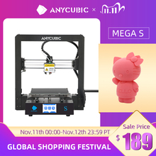 ANYCUBIC Mega S Mega S 3D Printer I3 Mega Upgrade Large Size TPU High Precision Touch Screen DIY 3D Printer kit impressora 3d