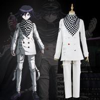 Danganronpa V3: Killing Harmony Ouma Kokichi White evening suit Cosplay Party costumes Halloween uniform uniform cloak anime sui