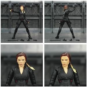 """Image 5 - Avenger 4 Endgame veuve noire 6 """"figurine infini pierres Soul gemme Scarlett Johansson légendes modèle de jouets de poupée SHF de KO"""