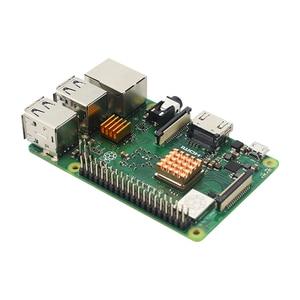 Image 5 - Ahududu Pi 3 Model B + ABS kılıf + 32GB SD kart + güç adaptörü + soğutucu + isteğe bağlı 3.5 inç dokunmatik ekran veya HDMI RPI 3B +