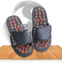 Unisex Foot Massager Slippers Health Care Acupuncture Massage Shoes Reflex Stress Rotating For Foot Acupoint Relax Stimulator