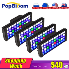 PopBloom lamps for aquarium marine led lighting tank reef coral SPL LPS programmable light MJ3BP4