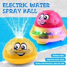 Детские игрушки для ванной с пузырьками индукционный шарик распыления